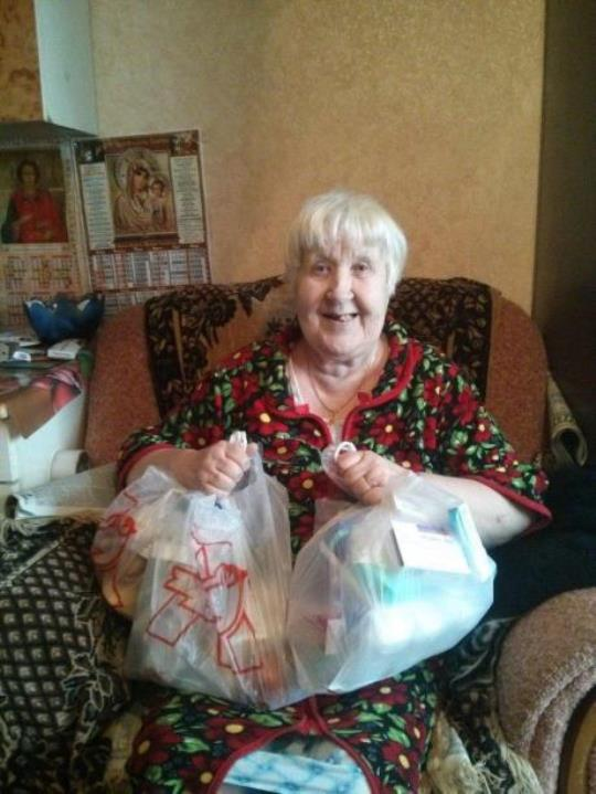 New project launched - Helping elder people from Russia